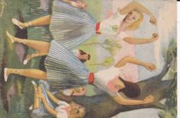 España  - GUERRA CIVIL - TARJETA POSTAL - SECCION FEMENINA DE F.E.T.Y DE LAS J.O.N.S - ALBERGUES DE JUVENTUDES - 1931-Aujourd'hui: II. République - ....Juan Carlos I