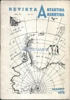 34772 ARGENTINA REVISTA ANTARTIC ANTARTIDA AÑO 18 Nº 20 PAG 33 YEAR 1976 NO POSTAL POSTCARD - Books, Magazines, Comics