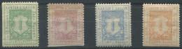 1196 - ST. GALLEN Fiskalmarken - Steuermarken