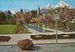 .. BERCHTESGADEN .. IM KURPARK MIT WATZMANN .. ECRITE AU VERSO LE 5.7.1976.. - Berchtesgaden