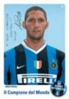 Materazzi Giocatore INTER Season 2006 2007 Carte Postale - Soccer