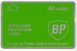 TELECARTE HOLOGRAPHIQUE BP 40U PETROLE  CN 201K NEUVE - Petrole