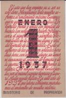 España  - GUERRA CIVIL - TARJETA POSTAL - 1 ENERO 1937 - 1931-50 Briefe U. Dokumente
