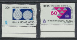 Hong Kong - 1976    Girl Guides Jubilee   ***   MNH - Hong Kong (...-1997)