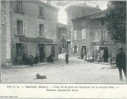 69 YZERON RESTAURANT CAFE RHONE - Francia