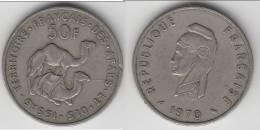 DJIBOUTI - TERRITOIRE DES AFARS ET DES ISSAS **** 50 FRANCS 1970 **** EN ACHAT IMMEDIAT !!! - Djibouti