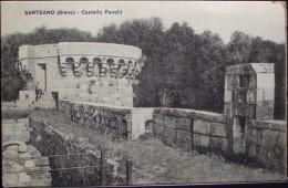 SARTEANO (Siena) - Castello Fanelli - Non Viaggiata Formato Piccolo - Siena