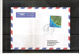 Cover From Hong Kong To Switzerland - (to See) - Non Classés