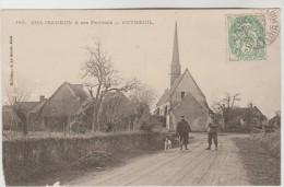 CPA AUTHEUIL (Eure Et Loir) - Entrée Du Village - Autres Communes