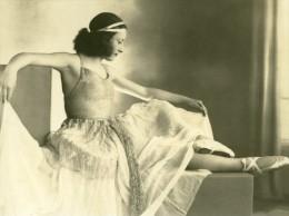 Danse Danseuse De Ballet Ballerine Arcachon France Ancienne Photo Lumiphoto 1930 - Anonymous Persons