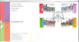 FDC Hong Kong - International Sporting Events - Complete Set (to See) - 1997-... Région Administrative Chinoise
