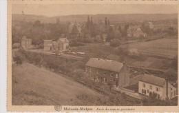 Cpa 1934 Malonne - Malpas. Arrêt Du Tram Et Panorama. (Albert) E.Rifflart-Courtois, Coiffeur Malonne - Namur