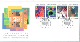FDC Hong Kong - Designs - Complete Set (to See) - 1997-... Région Administrative Chinoise
