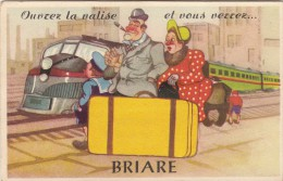 45 BRIARE /  CARTE SYSTEME ET PETITES VUES  / TRAIN    /////  REF. MARS 16  / N° 507 - Briare
