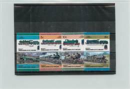GRENADINES OF ST. VINNCENT BEQUIA 1984 - TRENI TRAINS -  16 VALORI - St.Vincent E Grenadine