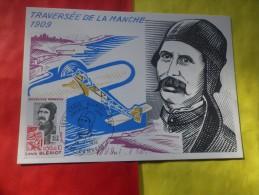 FRANCE (1972) BLERIOT: Traversée De La Manche - Maximum Cards