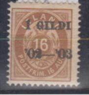 ISLANDE      1902           N.    28          COTE    25 . 00    EUROS          ( 534 ) - Neufs