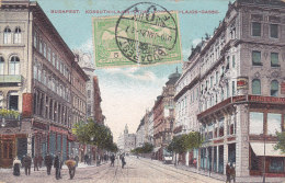 Budapest - Kossuth-Lajos - Lajos Gasse (animation, 1910) - Hongrie