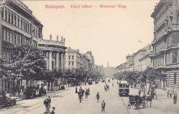Budapest - Vaczi Körut - Waitzner Ring (animation, Tram, Tramway) - Hongrie