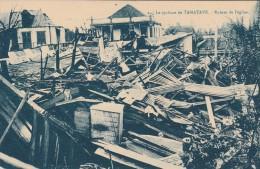 Tamatave -le Cyclone - Ruines De L'église  - Scan Recto-verso - Madagascar