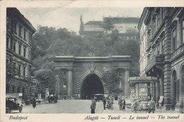 Budapest - Alagut - Tunnell - Le Tunnel (animation) - Hongrie