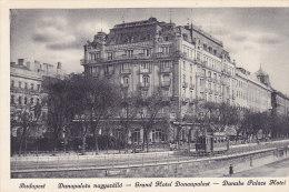 Budapest - Dunapalota Nagyszallo - Grand Hotel Donaupalast - Danube Pace Hotel (tram Tramway) (animation) - Hongrie