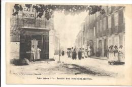 C P A  -  LES  ARCS  Sur  ARGENS  Sortie  Des   Bouchonnierres - Les Arcs