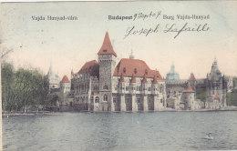 Budapest - Vajda Hunyad-vara - Burg Vajda-Hunyad (colors, 1907) - Hongrie