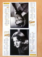 SUPERBE CALENDRIER ROMY SCHNEIDER / GERARD PHILIPPE - 2001 - COMME NEUF - - Calendriers