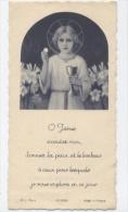 Image Pieuse-PAPIER-JAUNE - Images Religieuses