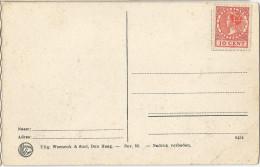 _5pk-330: Voorgefrankeerde Prentkaart Met Perfin: S.B. 10 Cent / Scheveningen Boulevard.... - 1891-1948 (Wilhelmine)