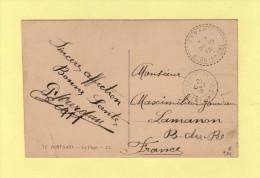 Correspondance D Armees - Port Said - 21 Oct 1915 - Destination Lamanon - Port-Saïd (1899-1931)