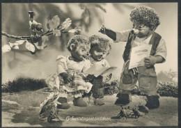Meckikarte   -  Geburtstagsständchen - Mecki