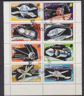 Oman 1974 Space 8v In Sheetlet Used (F5117) - Oman