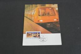 TR1202-  Romania - Postal Card Stationary- 1983-  Metro Station Bucuresti Eroilor - Treni