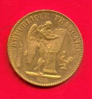 20 FRANCS GENIE EN OR  1893 A - L. 20 Francs