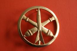 Régiment D´artillerie MEDAILLE INSIGNE MILITAIRE DE BERET =>CANONS MISSILE Militaria - France