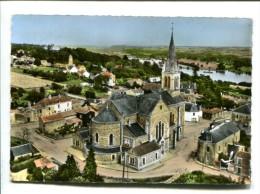 CP  Le Cellier (44) L Eglise Et La Loire - Le Cellier