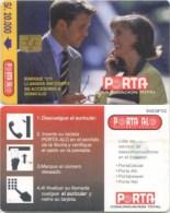 Telefonkarte Ecuador - Porta - Mann Und Frau