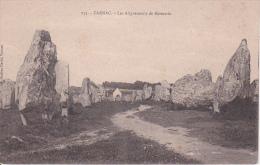 CPA Carnac - Les Alignements De Kermario (22232) - Carnac