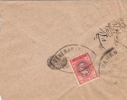 Lettre Teheran Postes Persanes 6 CH 1910 - Iran
