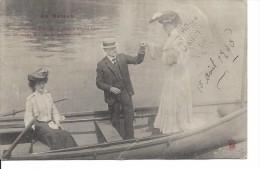 1905 - En Bateau - Marques Postales De CAP ROUGE Et STE-ANNE DE BEAUPRÉ, Quebec, (H1151) - Autres