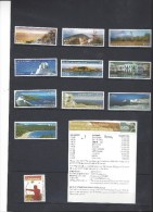 22 Timbres - GRECE - 2002 à 2005 - Neuf - Valeur Faciale 23.96 Euros - Unused Stamps