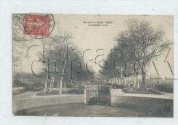 Agde (34) : L'écluse Du Bassin Rond En 1911 PF. - Agde
