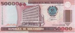 BILLETE DE MOZAMBIQUE DE 50000 METICAIS DEL AÑO 1993 (BANKNOTE) SIN CIRCULAR-UNCIRCULATED - Mozambique
