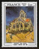 FRANCE 1979 - Painting VINCENT VAN GOGH / Church D'Auvers-sur-Oise - MNH ** Cv€4,50 L517 - France