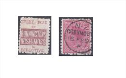 "Nouvelle Zélande Publicité ""Bonninctons Irish Moss, Every Dose Of"" - Used Stamps"