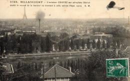 Billancourt : Aéroplane Blériot Aviateur Chavez Record De Hauteur 2630m (sept. 1910) Prix En Baisse - ....-1914: Voorlopers