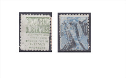 "Nouvelle Zélande Publicité ""Bonninctons Irish Moss, A Prompt And Effective Remedy For All Lungs Disorder"" - Gebraucht"