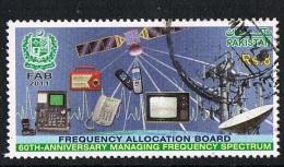 2011 - PAKISTAN - 60° ANNIVERSARIO DELLA GESTIONE DELLE FREQUENZE DEL SATELLITE SPECTRUM. USED - Spazio